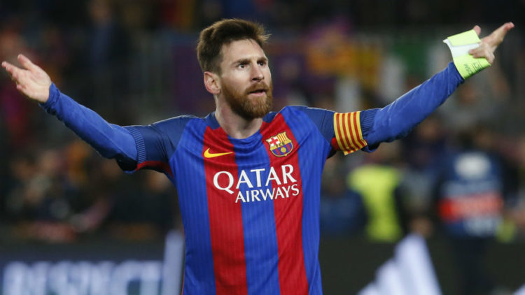 Leo Messi is the top goal scorer in La Liga