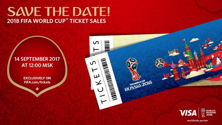 World Cup 2018 Russia Buy Tickets