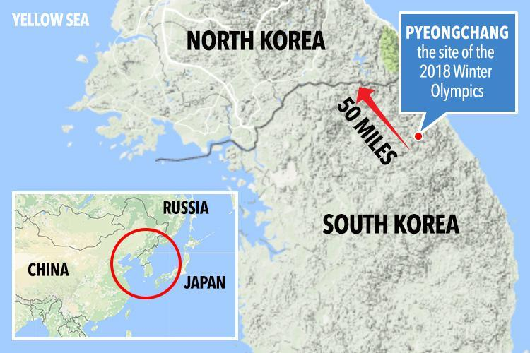 PyeongChang on the Map