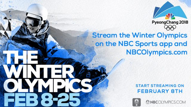 TV SCHEDULE Winter Olympics2