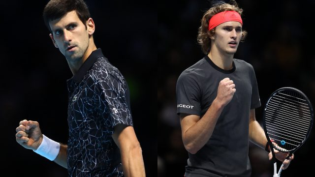 ATP FINALS 2018: Djokovic vs Zverev