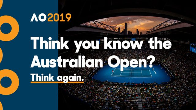Australian Open 2019 Schedule of play