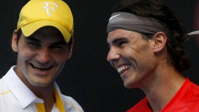 Nadal vs Federer in Social Media