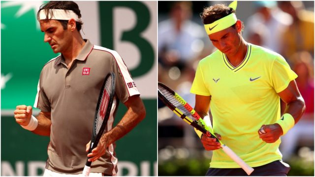 Federer vs Nadal Head2Head