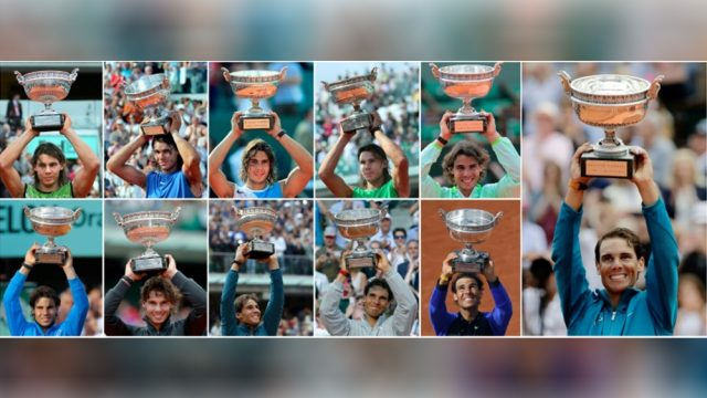 Rafael Nadal's French Open Titles