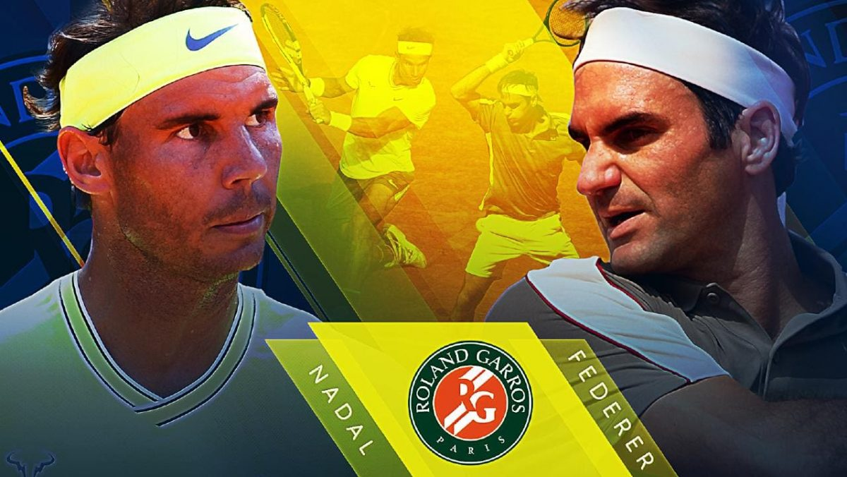 Rafa vs Roger at Roland Garros