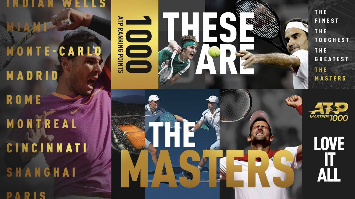 Masters 1000 - Most Titles List