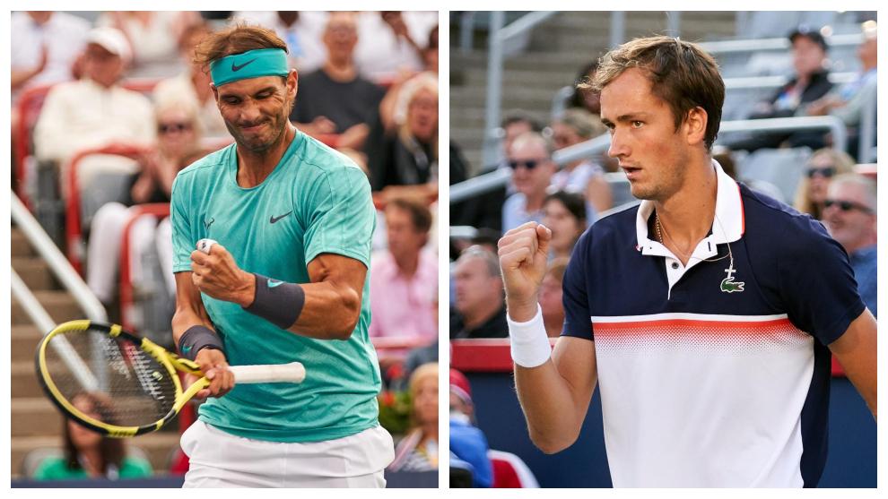 Rogers Cup Final: Predictions Rafa vs Medvedev