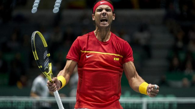 Rafael Nadal's Davis Cup record