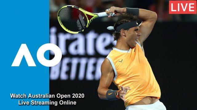 Free Live Stream Australian Open Tennis 2020