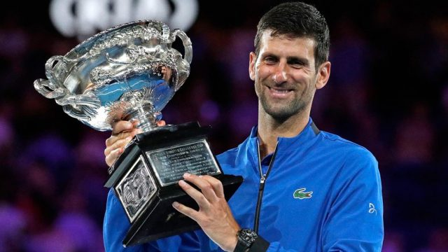 Novak Djokovic Draw Australian Open 2020